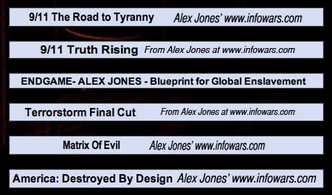 Alex Jones has made a lot of films.