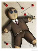 Your Puppet is a like a Voodoo Doll for the Corporation