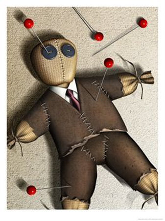 Amerikans are Voodoo Dolls for the Corporation