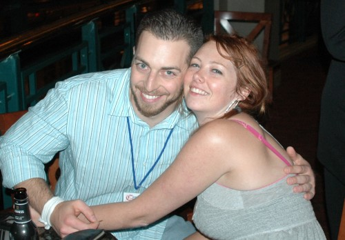 Adam Kokesh with the Truth Fairy, Brooke