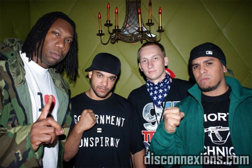 luke rudkowski with krs-one, musicians for freedom, disconnexions, ae9/11 truth, 9/11 truth, we are change, wac
