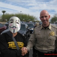 Pinal county sheriff (R), is an Oathkeeper