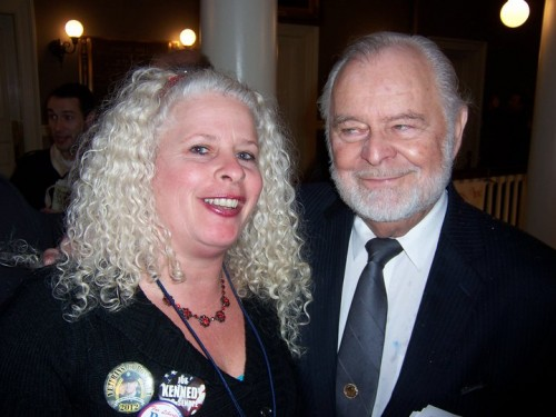 Gigi Bowman with G. Edward Griffin, Author of the Creature from Jekyll Island