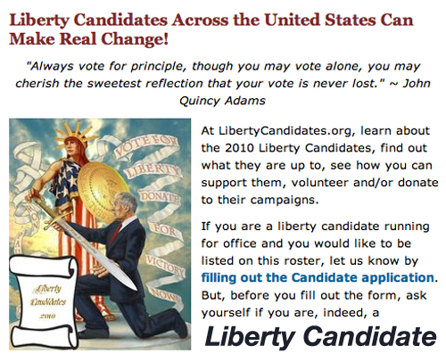 Candidates for Office Complete an Application