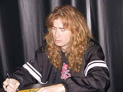Dave Mustaine Height Dave Mustaine Appeared at The