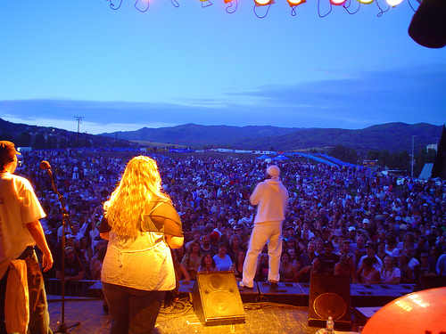 Lion Vibes on Stage with Pato Banton at Steamboat Springs