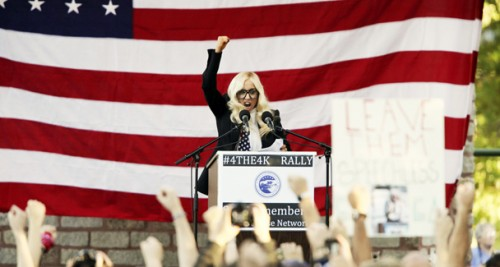 Lady Gaga is an Activist for Repealing DADT