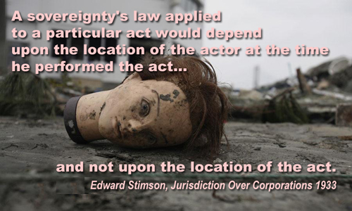 Edward Stimson: Jurisdiction Over Corporations