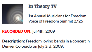 Voice of Freedom 2009