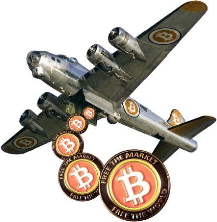 Davi Barker heads up Bitcoins Not Bombs Project