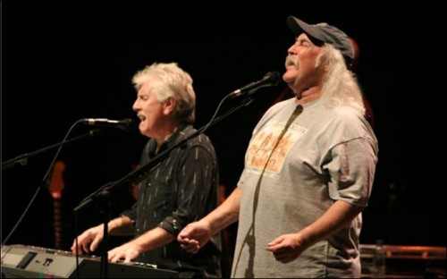 David Crosby and Grahm Nash Presented at CWA 2011 in Boulder