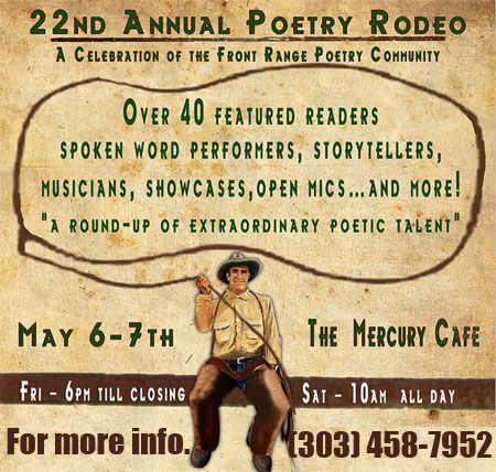 Seth Hosts the Annual Podeo, a Poem Rodeo