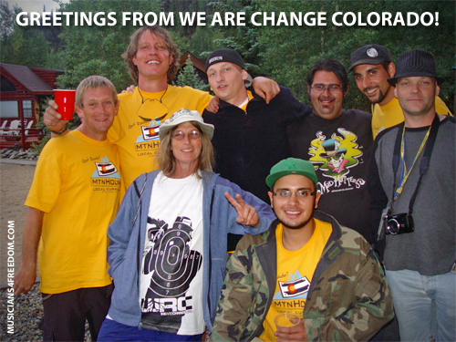 We are Change Colorado activists at Wayne Walton's Conference 2012