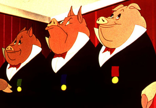 """""""All animals are equal but some animals are more equal than others."""" Animal Farm, George Orwell."""