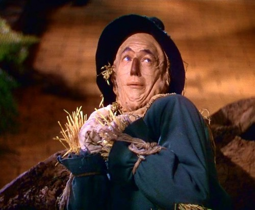 A Strawman is a Fake, a Man of Straw, Artificial; image is from the movie, The Wonderful Wizard of Oz