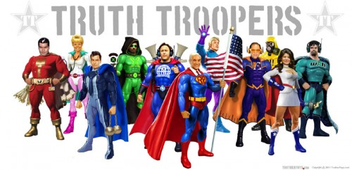 Who Wouldn't Want to Be Immortalized as a Truth Trooper?