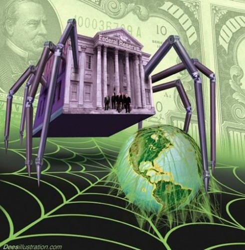 The globalist banksters are weaving a web of debt in which to ensnare all of the world
