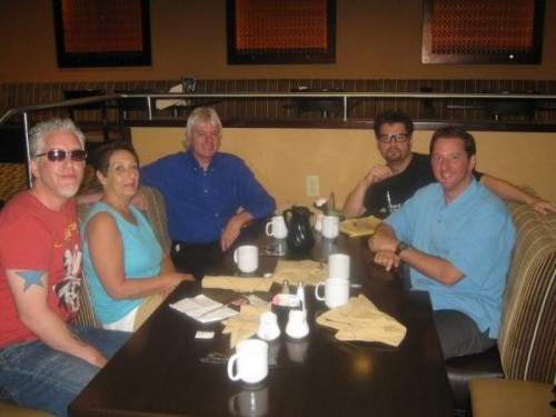 Tragedy and Hope Partner, Meria Heller, with Friends Jack Blood, David Icke, ManCow, and Kevin Trudeau