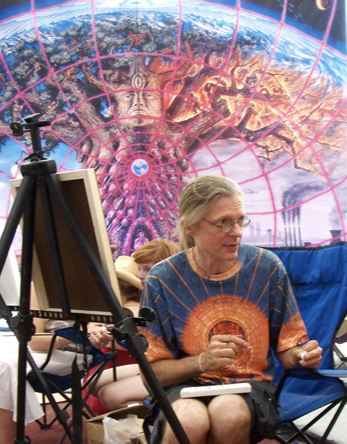 Alex Grey: from agnostic existentialism to a radical transcendentalism