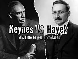 Keynes and Hayek Held Vastly Different Conceptions of Fiscal Policy