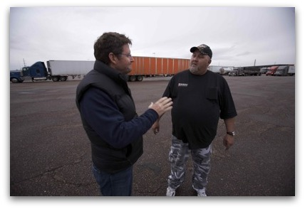 Joe Cross Connects with Trucker Phil and Inspires Him to Reboot His Life