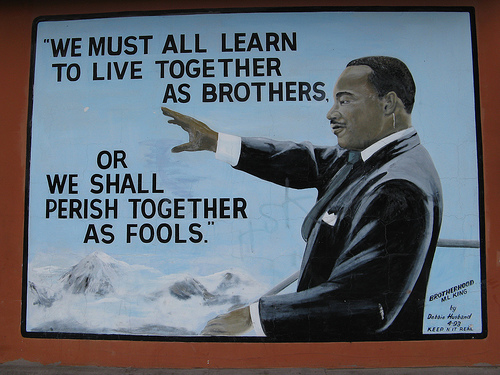 Dr. Martin Luther King understood the challenge: brothers or fools?