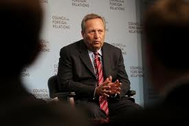 Clueless bankster Larry Summers was instrumental in destroying the economy to begin with