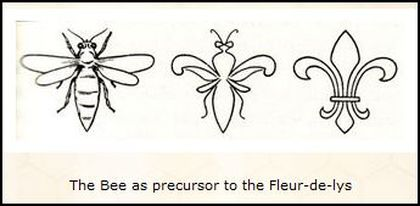 The Bee as Precursor to the Fleur-de-Lys