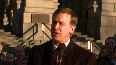 Colorado Governor John Hickenlooper is Concerned About Overnight Guests