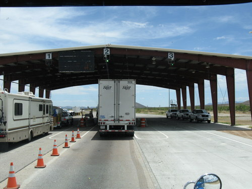 VIPR checks trucks at internal checkpoint