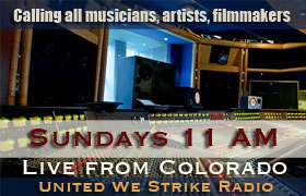 Join our radio show on Sundays!