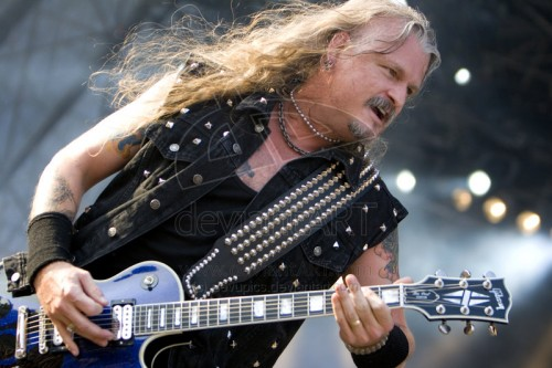 Iced Earth Jon Schaffer is a fierce freedom fighter