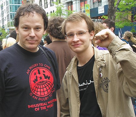 David Graeber (L) Argues that the Planet Could Use Massive Debt Relief, a Biblical Jubilee