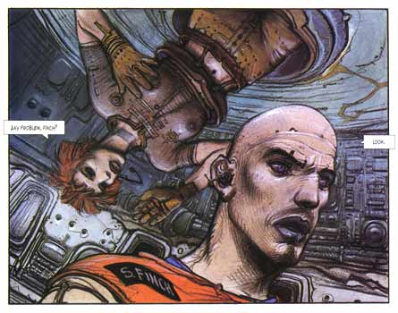 The Dormant Beast by Graphic Artist Enki Bilal