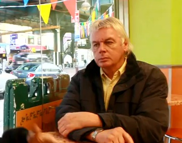 We are Change's Luke Rudkowski Interviews David Icke