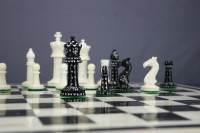 It's all in the game: Queens, Kings, Bishops, Rooks, Knights and Pawns.
