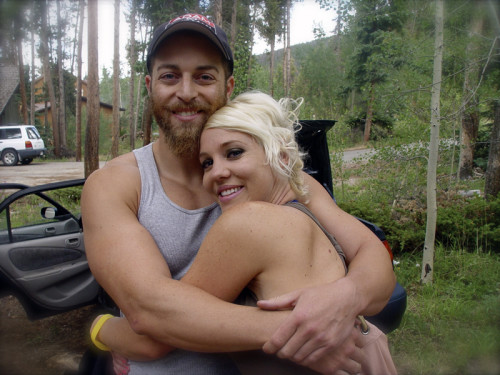 Adam Kokesh with friend at Wayne Walton's Mountain Hours Event in Breckinridge Colorado