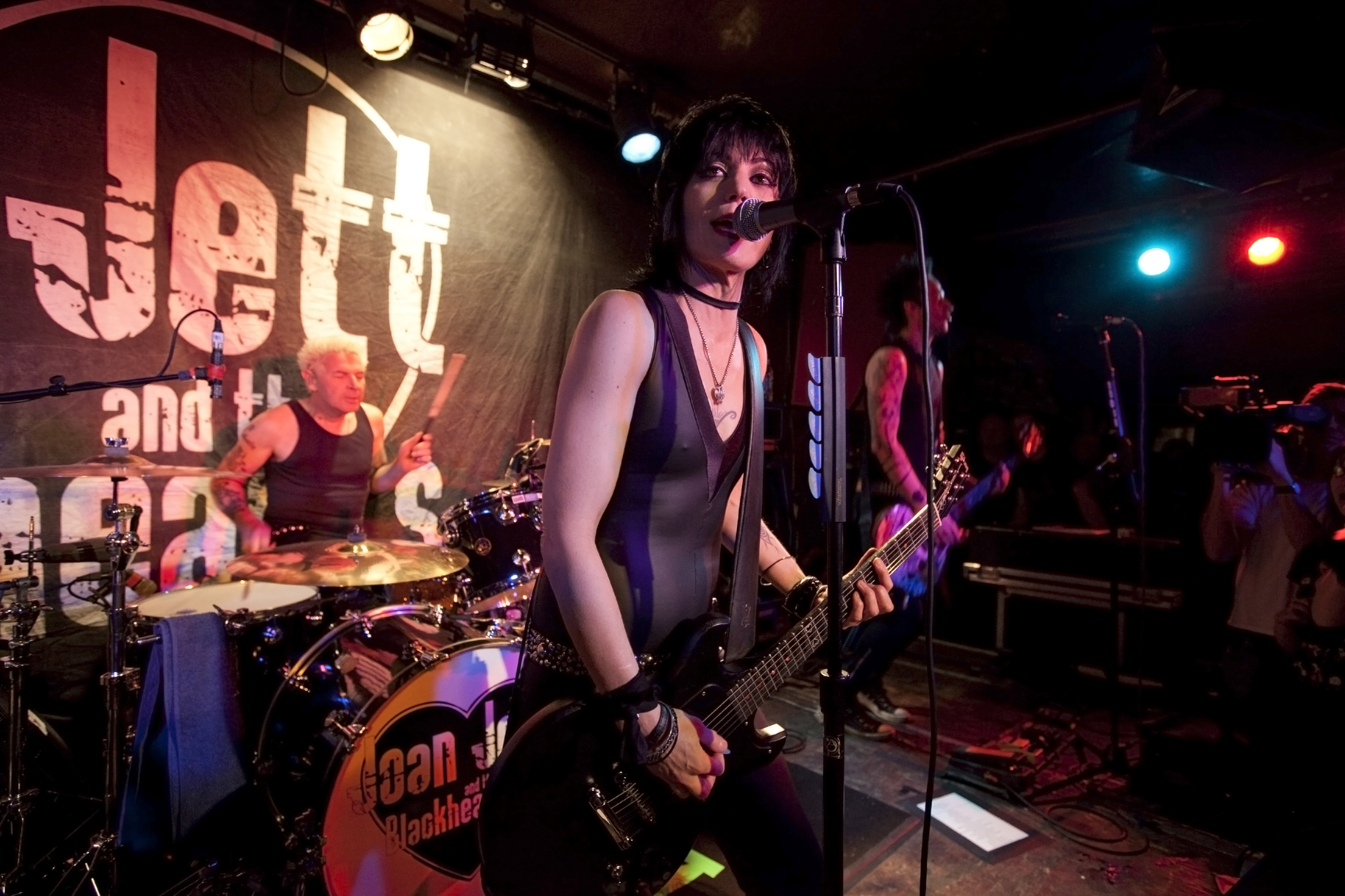 Joan Jett has worked with Vets Rock, which provides services to Veterans