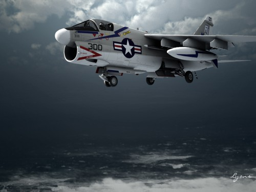 Corsair II by Graphic Artist James Lyons