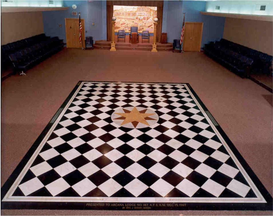 The checkered floor: where the Elite play games