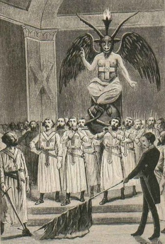 Madonna's Halftime Show resembled the ancient worship of Baphomet