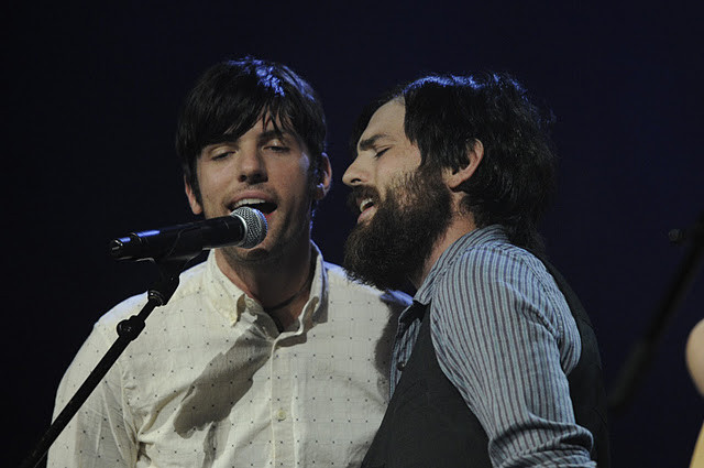 The Avett Brothers were among the performers at the 2011 Americana Music Awards.