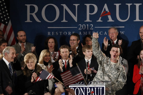 Veterans are big supporters of Ron Paul
