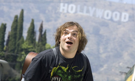 Jack Black in Tenacious D The Pick of Destiny