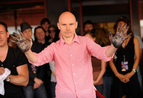 Billy Corgan of Smashing Pumpkins, inducted into Hollywood RockWalk