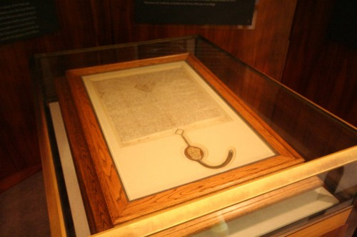 American freedom is derived from provisions in the Magna Carta