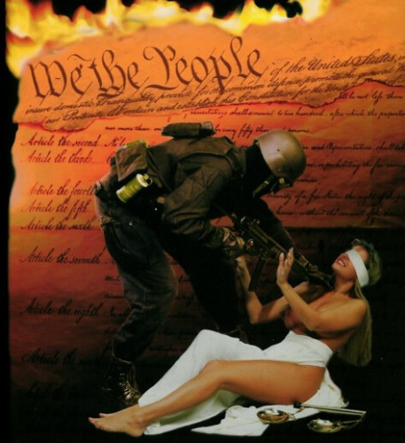 The Constitution and people are being raped by the NWO