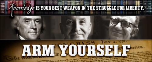 Tom Woods: Arm Yourself with Knowledge in the Struggle for Liberty!