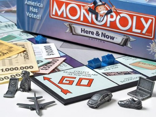Are Americans merely tokens in the Elite's real-life Monopoly game?