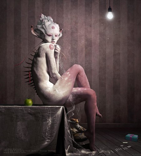 Corpus Delicti by Artist Oliver Wetter